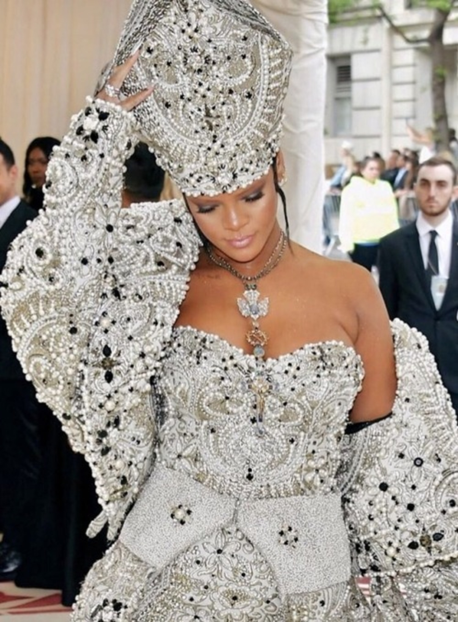 Rihanna at the 2018 Met Gala in New York City