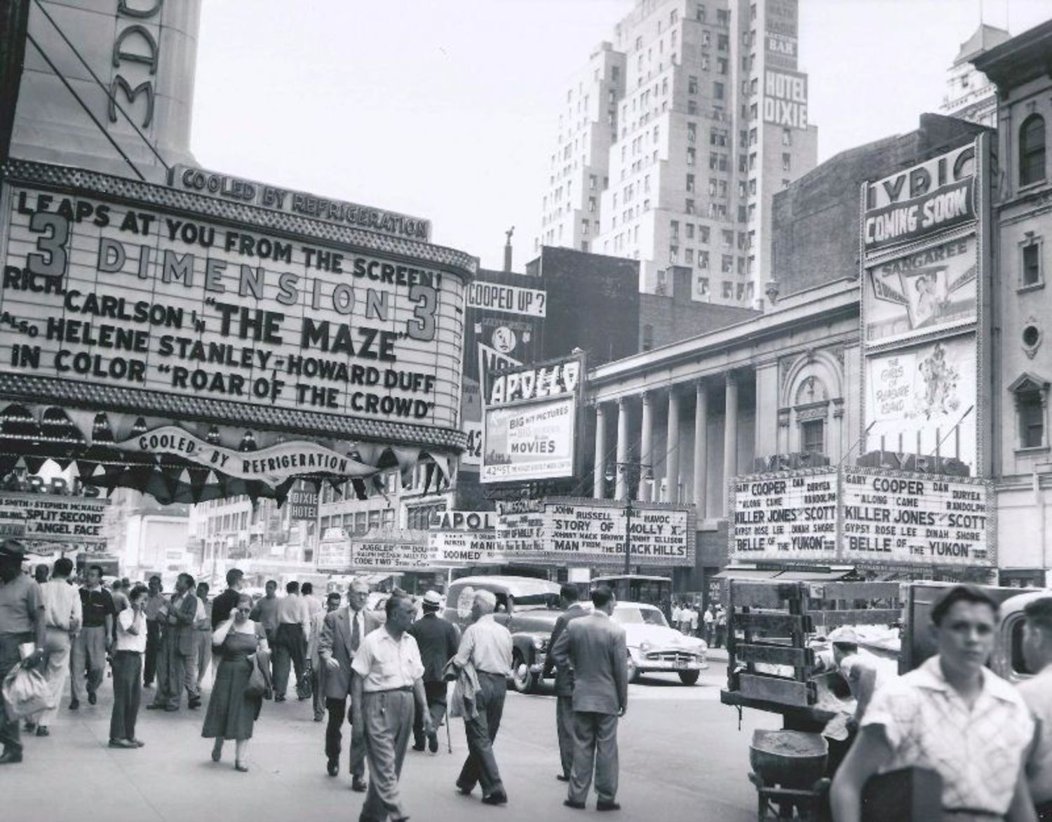 42nd Street off 7th Avenue, 1953