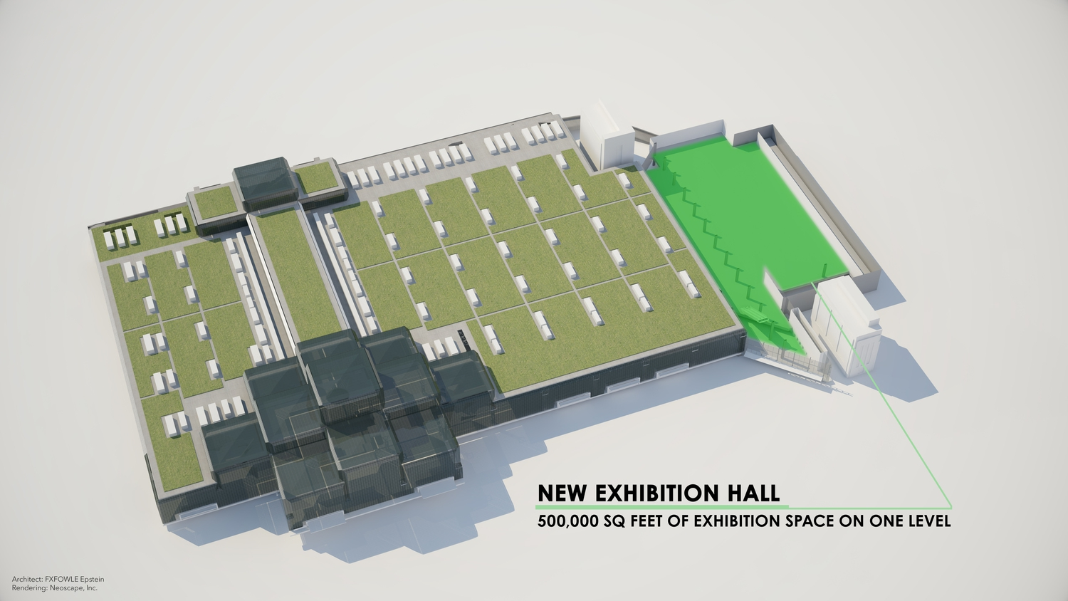 Javits Center Renderings: Exhibition Hall
