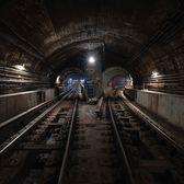 Subway Tunnel, New York, New York