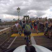 Tour de France on Brooklyn Bridge