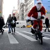 SANTA CLAUS TAKES OVER NYC (BMX) !