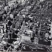 Midtown Manhattan from above, 1925