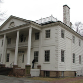 The Morris-Jumel mansion | The oldest and one of the most beautiful house in New York. Winter of 2010