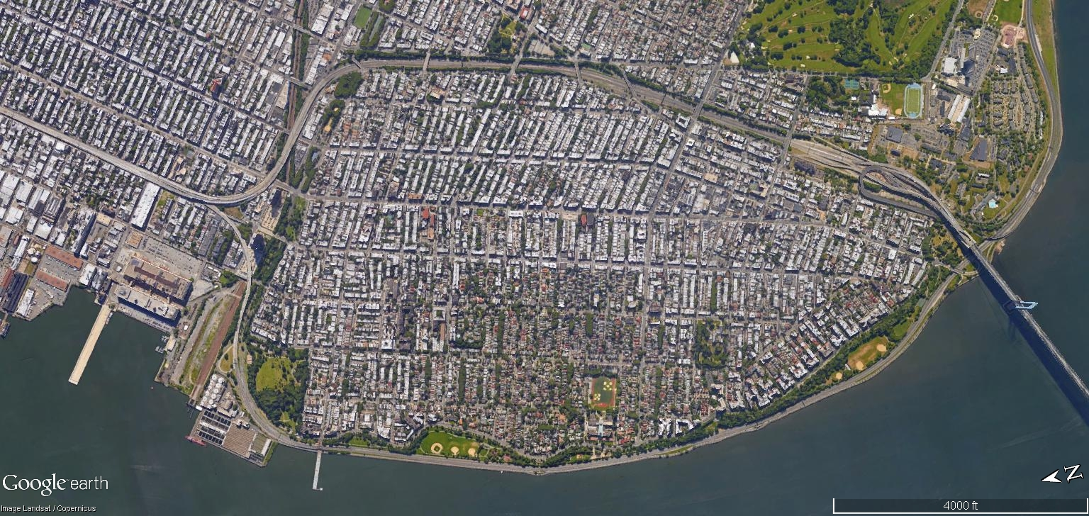 Check Out This Collection Of Google Earth Satellite Images Of New - Nyc subway map google earth