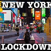 NEW YORK CORONAVIRUS LOCKDOWN: TIMES SQUARE EMPTY & 42ND STREET, NYC
