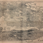 First Bird's-Eye Map of Greater New York. From photographs taken in the Sunday World's Studio Balloon, April 29, 1897.