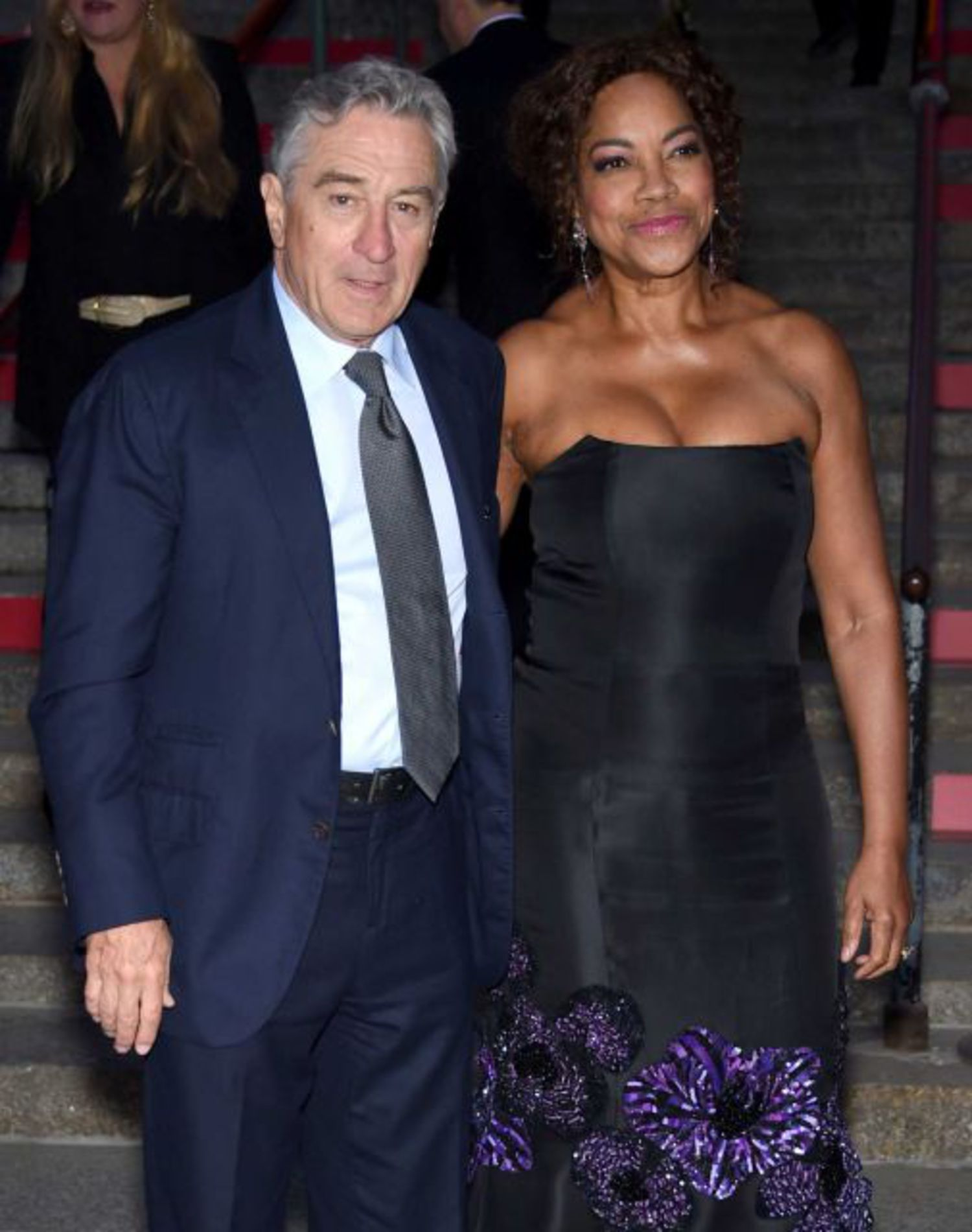 Tribeca Film Festival co-founder Robert De Niro and wife Grace Hightower attend the annual Vanity Fair Tribeca Film Festival kick-off party at the State Supreme Courthouse in Manhattan on Tuesday, April 14, 2015.