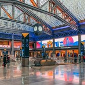 Moynihan Train Hall: Penn Station's Newest Addition (4K Binaural-Audio ASMR Walk)