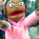 Twerking and Talking Puppet Hugging Random People On NYC Subway 4 Train