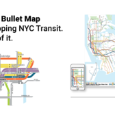 NYC Bullet Map - One Map, One City