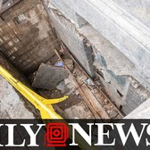 Manhattan sidewalk collapse leaves woman seriously injured