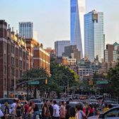 6th Avenue and Waverly Place, Greenwich Village, Manhattan