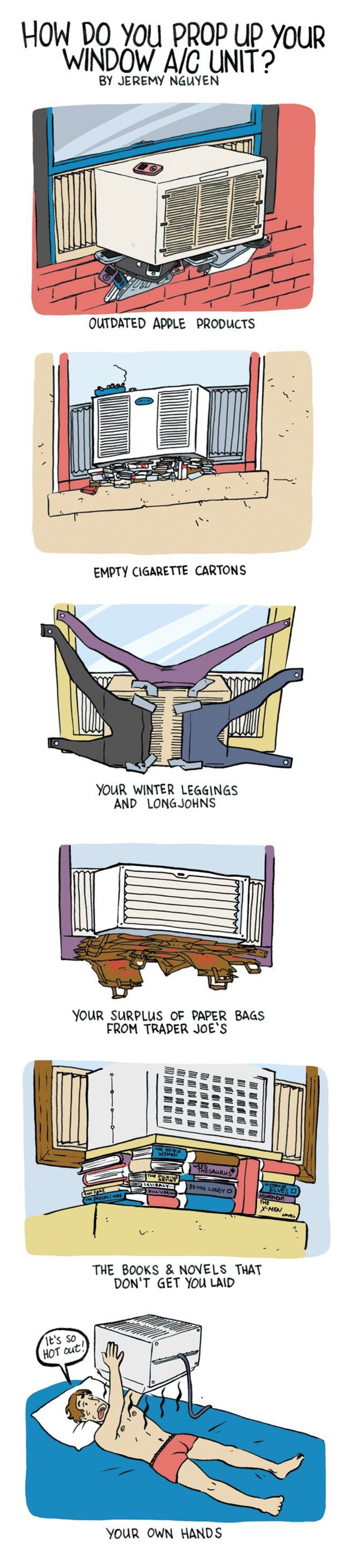 Your AC Unit Will Fall Out Your Window Without This Stuff