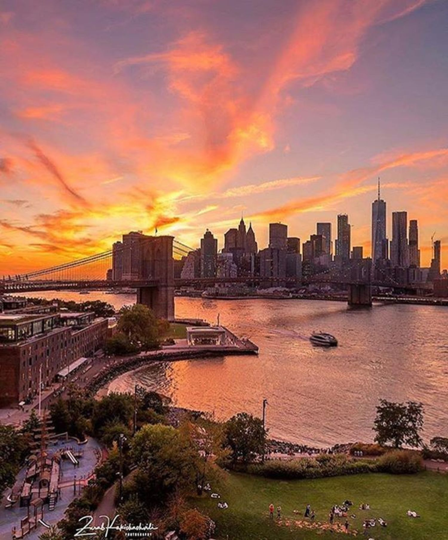 New York, New York. Photo via @zura.nyc #viewingnyc #newyorkcity #newyork #nyc