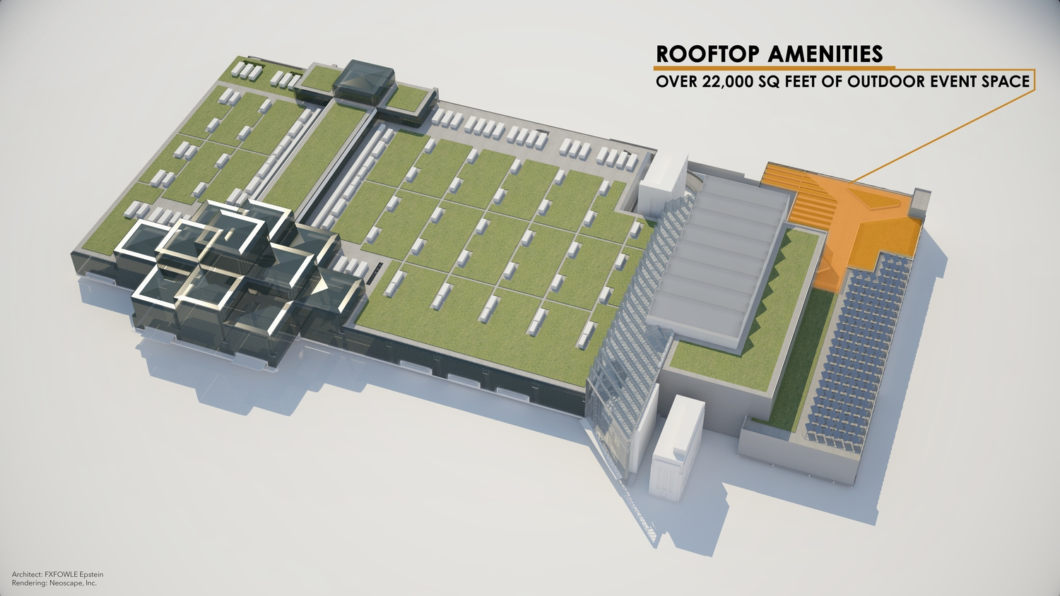Javits Center Renderings: Rooftop Amenities
