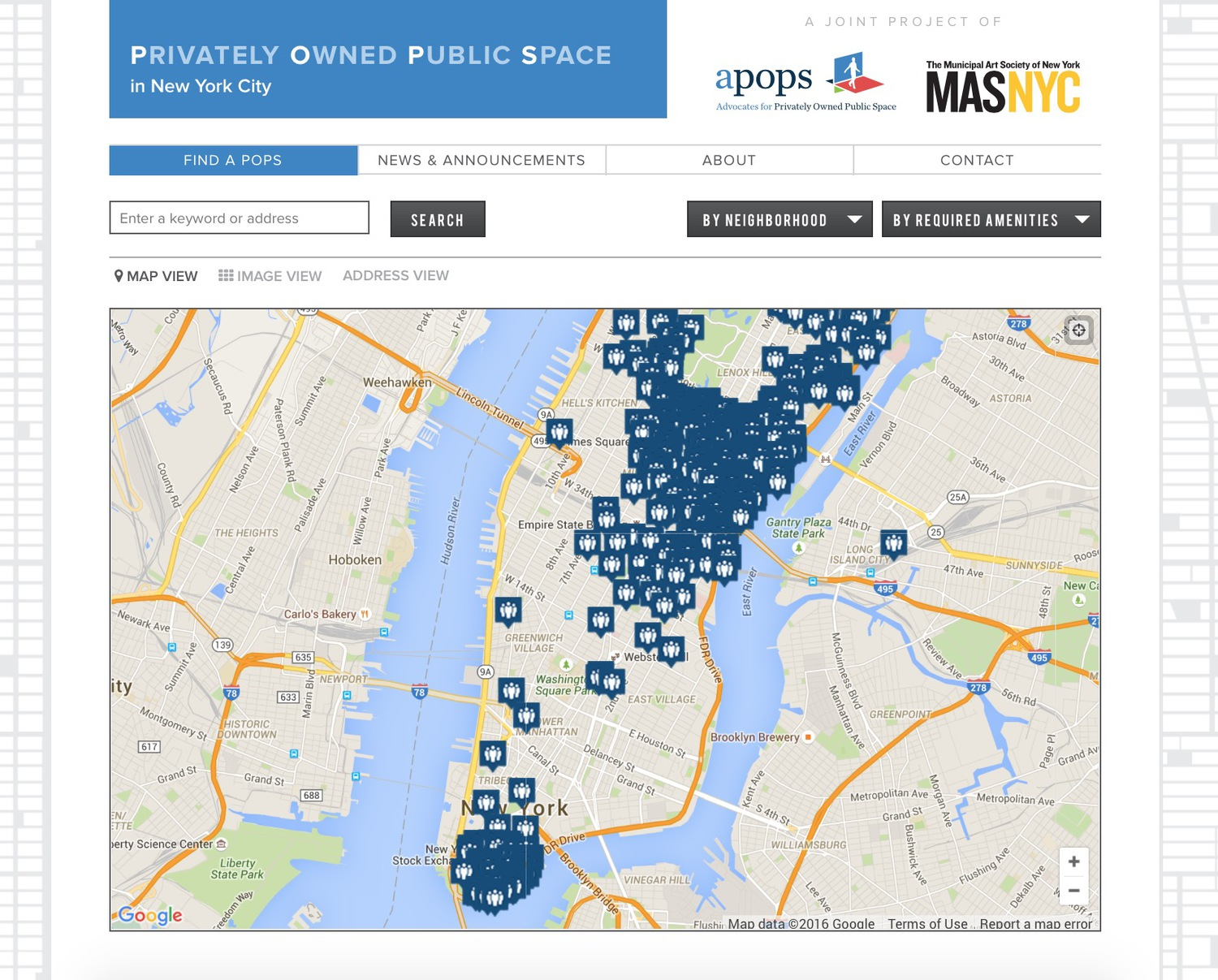 Privately Owned Public Space in New York City
