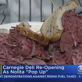 Carnegie Deli Returns As Pop-Up Shop