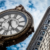 Flatiron and Clock | Madison Sq, Manhattan New York.