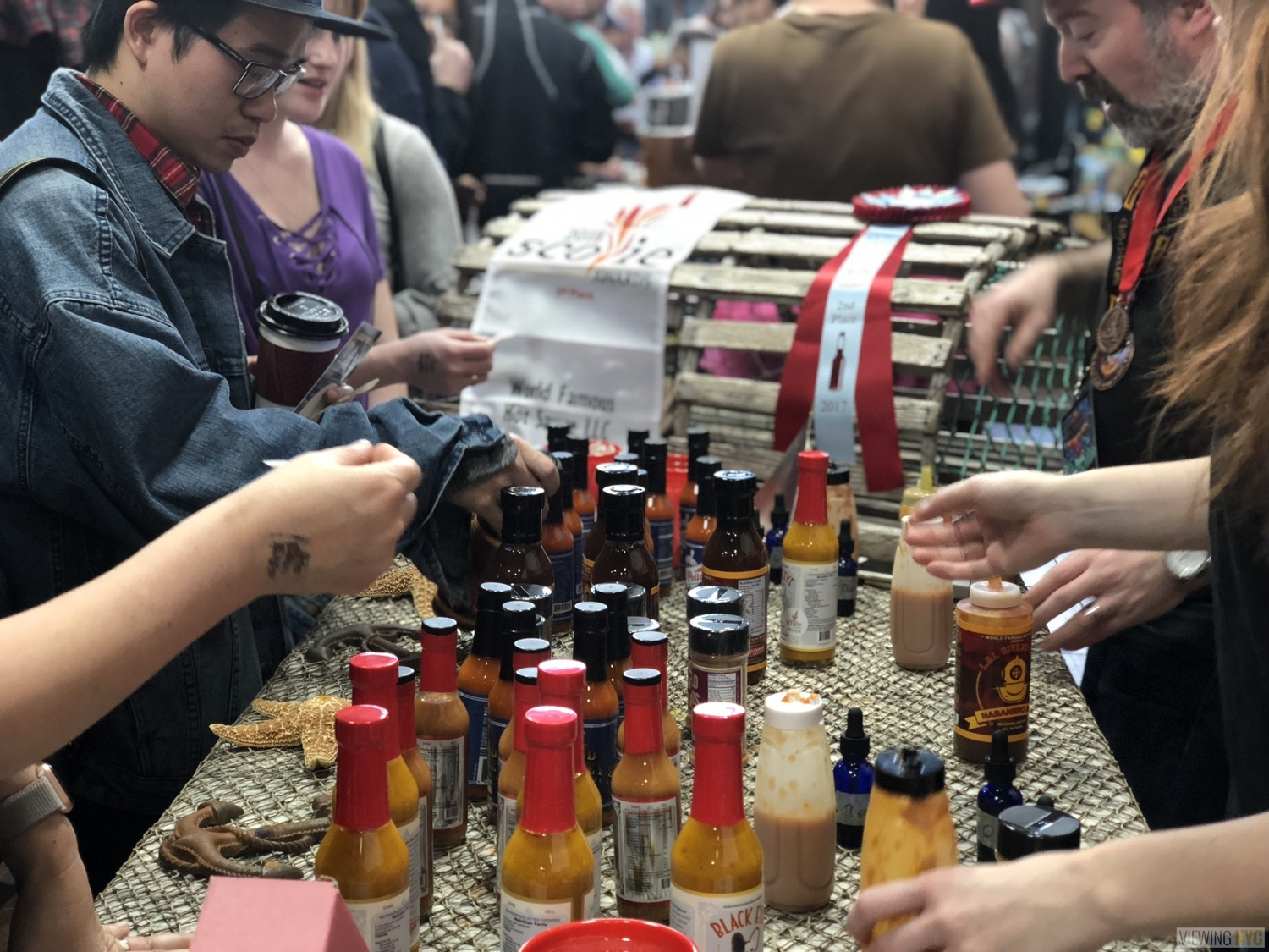 World Famous Hot Sauce Booth | 2018 New York City Hot Sauce Expo