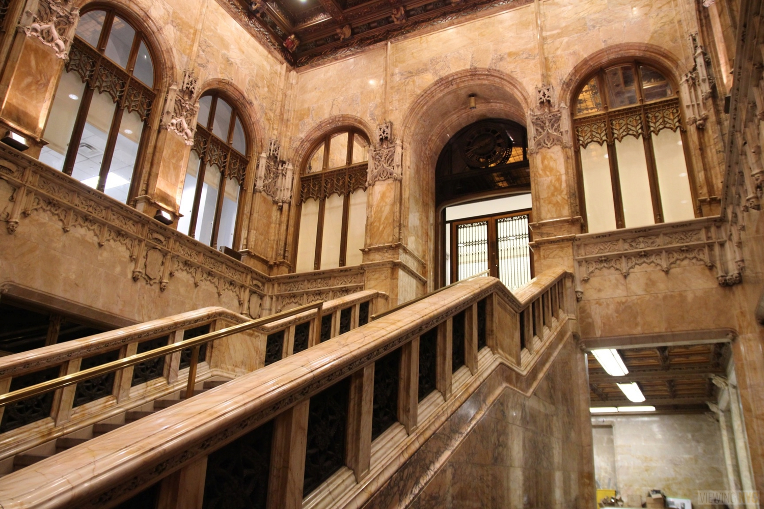 Woolworth Building Lobby and Basement Tour 27