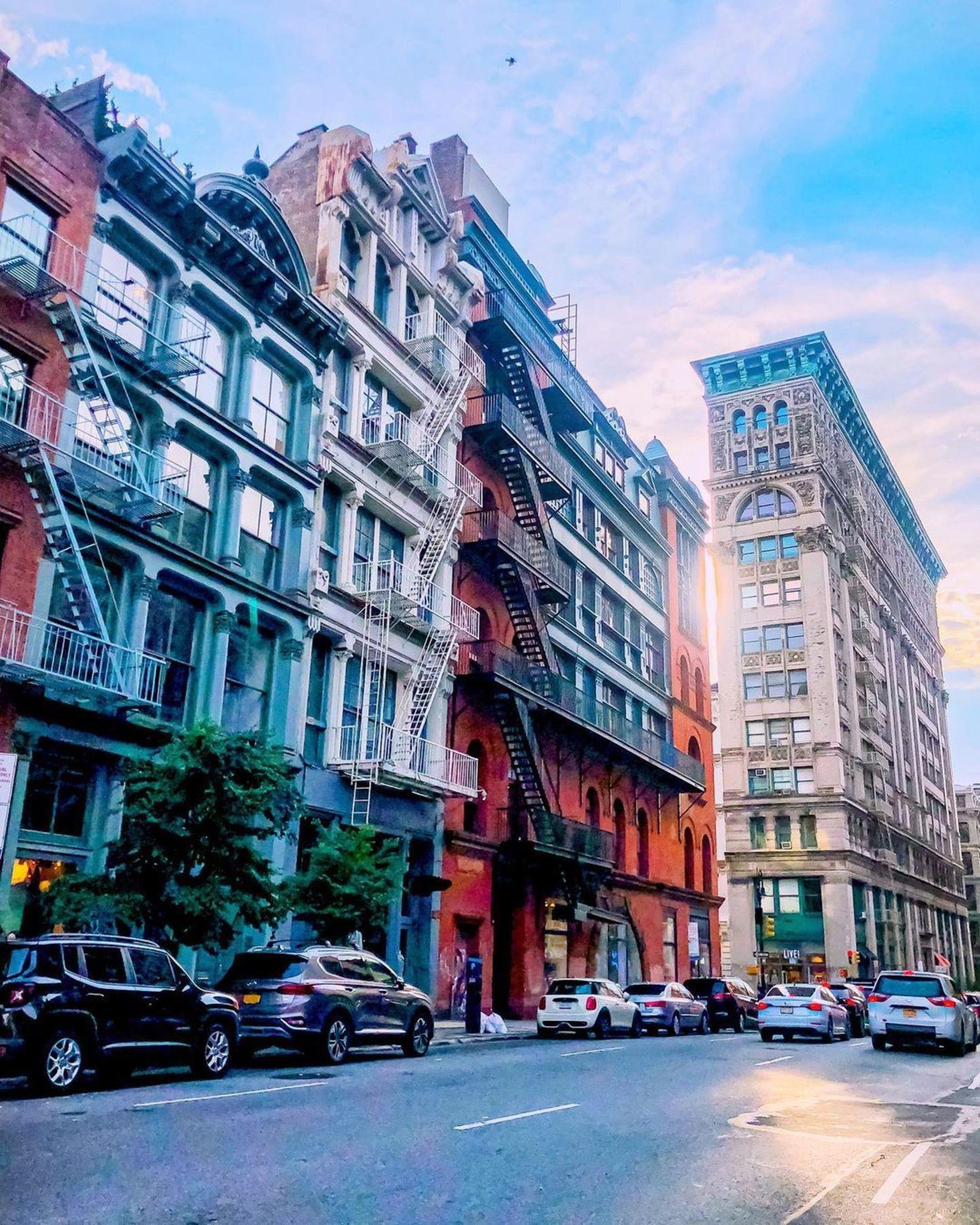 Soho Cast Iron District, Manhattan
