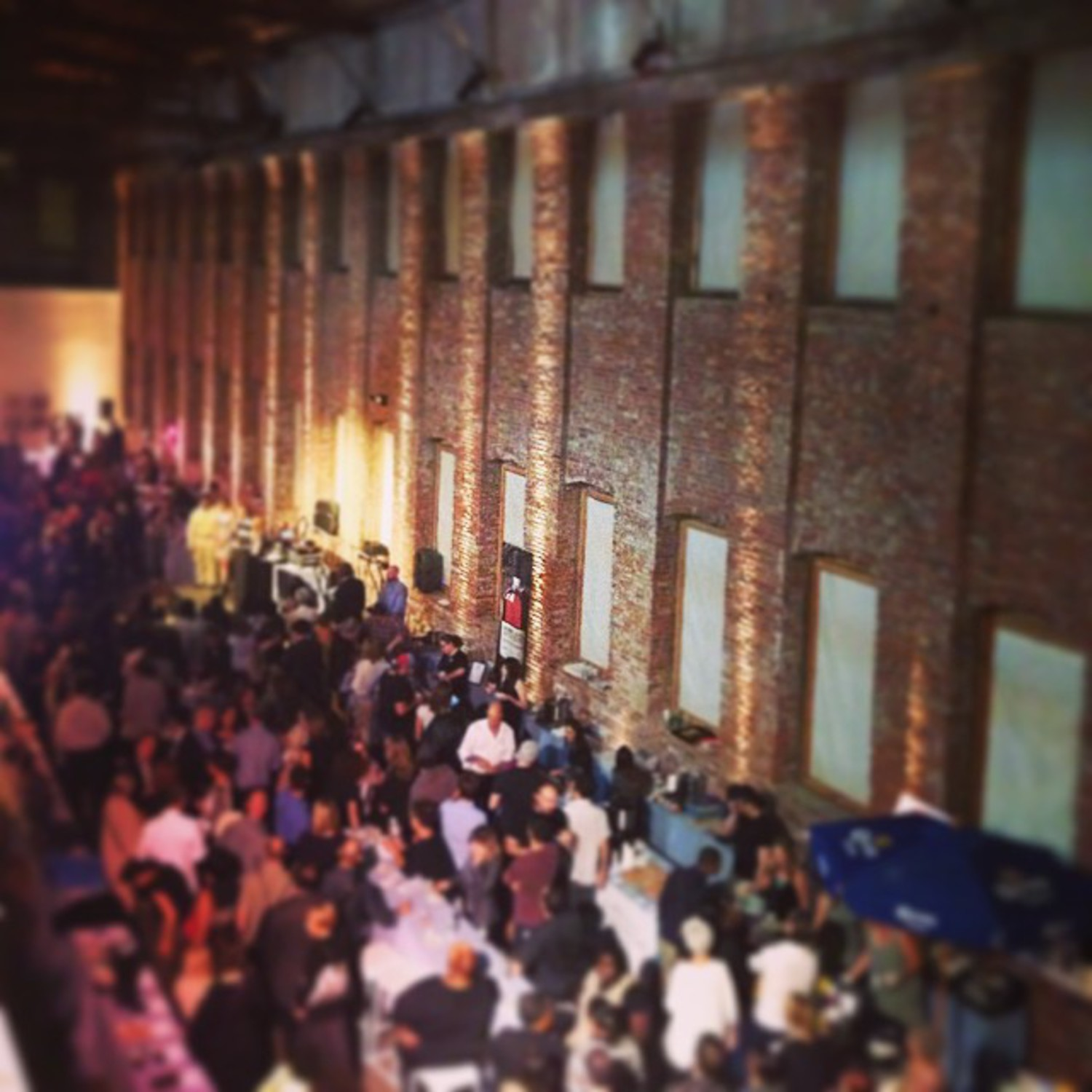 Another year of deliciousness with  @rhookinitiative's #tasteofredhook  @pioneerworks #fullbelly #yummiinmatummy