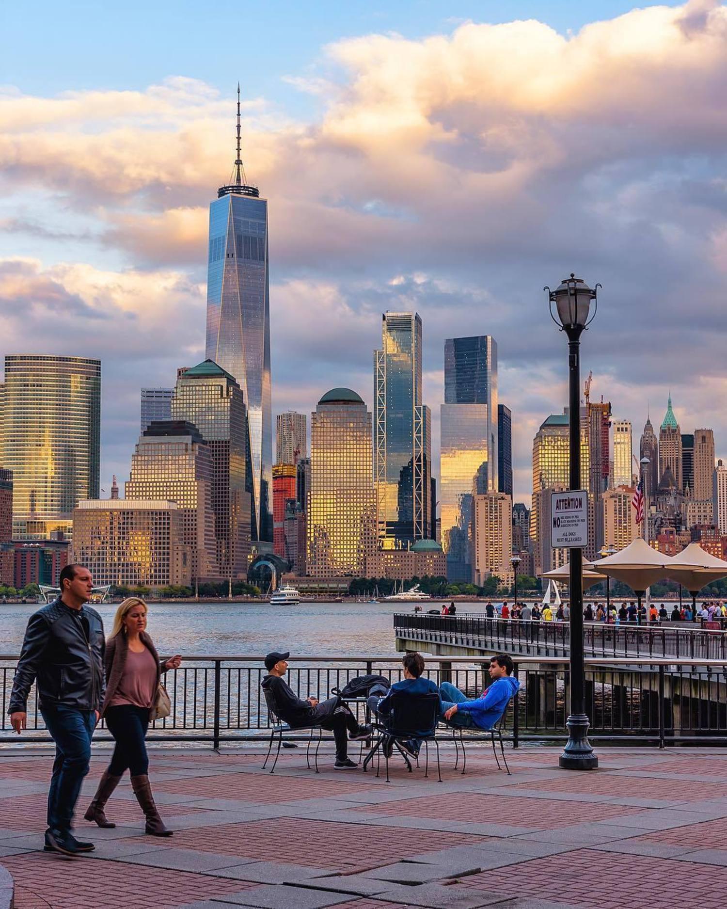 New York, New York. Photo via @papakila #viewingnyc #newyork #newyorkcity #nyc