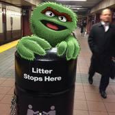 Me today. #subwaydoodle #subway #doodle #swd #oscarthegrouch #oscar #sesamestreet #firstdaybacktowork #monday #firstmondayoftheyear