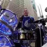 "Drumming ""Sweet Caroline"" in NYC in the Macy's Thanksgiving Day Parade"