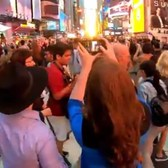 "⁴ᴷ The Legendary ""Manhattanhenge"" in New York City : Clips along 42nd Street"