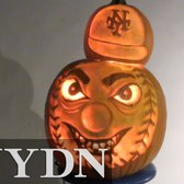 Mr. Met Pumpkin Carving