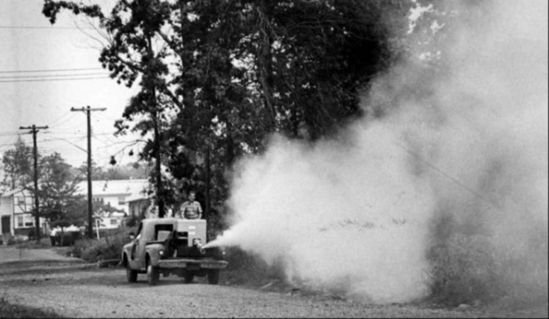 Fog machine spells death to mosquitoes