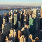 View from Empire State Building, Midtown, Manhattan