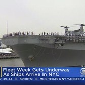 Fleet Week Gets Underway As Ships Arrive In NYC