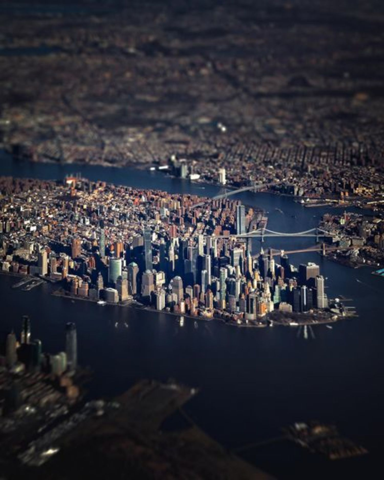 Lower Manhattan Tilt Shift