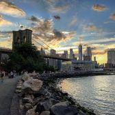 DUMBO, Brooklyn. Photo via @weeraaro #viewingnyc #newyorkcity #newyork #nyc