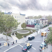 Sunken soul-searching spiral proposed for Crown Heights