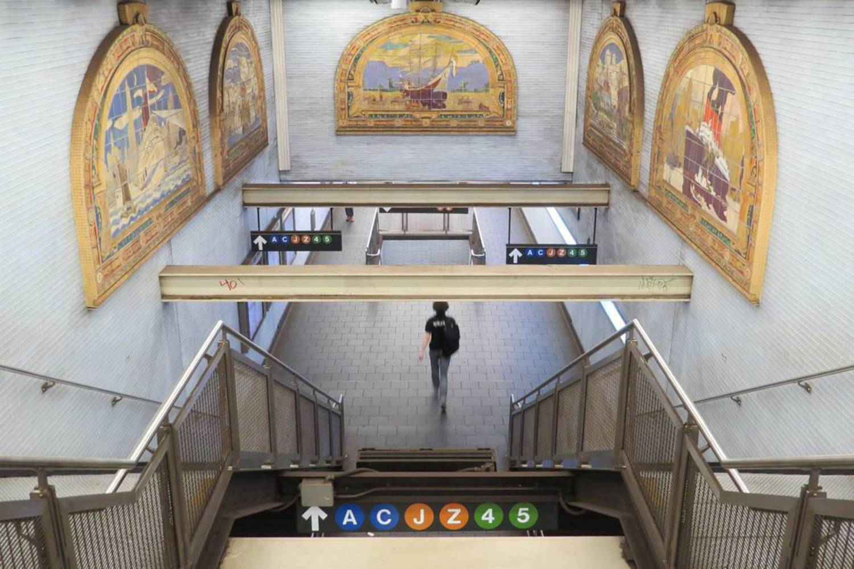 Classic & Modern  #symmetry #fultoncenter #financialdistrict #lowermanhattan #broadway #manhattan #nycsubway #nyctransit #nycprimeshot #usaprimeshot #instagramnyc #nbc4ny #abc7ny #pix11news #fox5ny #what_i_saw_in_nyc #ig_nycity #seeyourcity #yourtake #yourshot #nydngram #iloveny #timeoutnewyork #newyork_ig #newyork_instagram #nyc_explorers #nycdotgram #igersnyc #igersnewyork #njshooterz