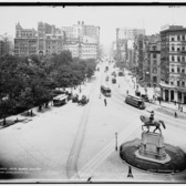 Union Square and Park Avenue, ca. 1890