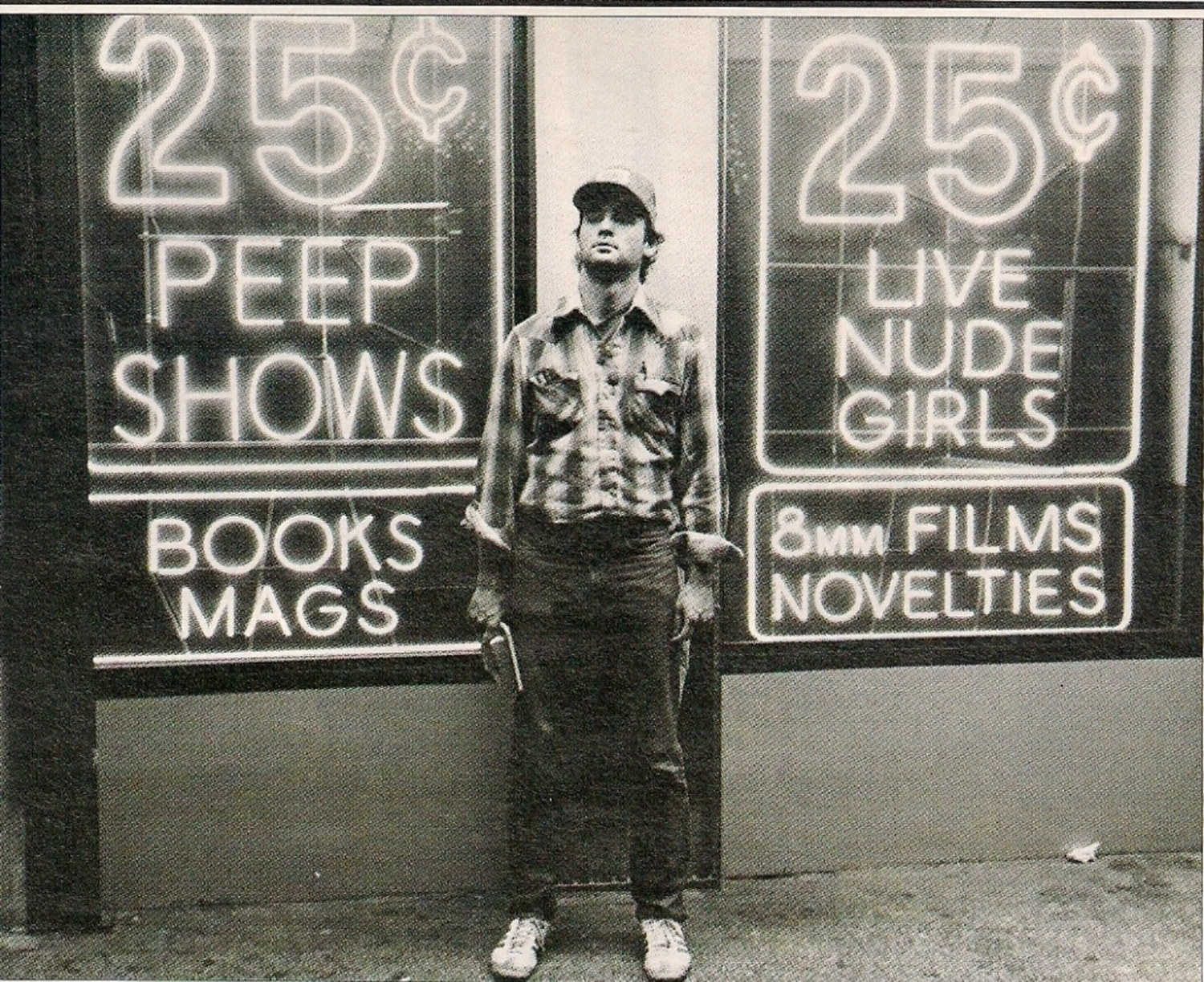 Bill Murray in Times Square, 1980