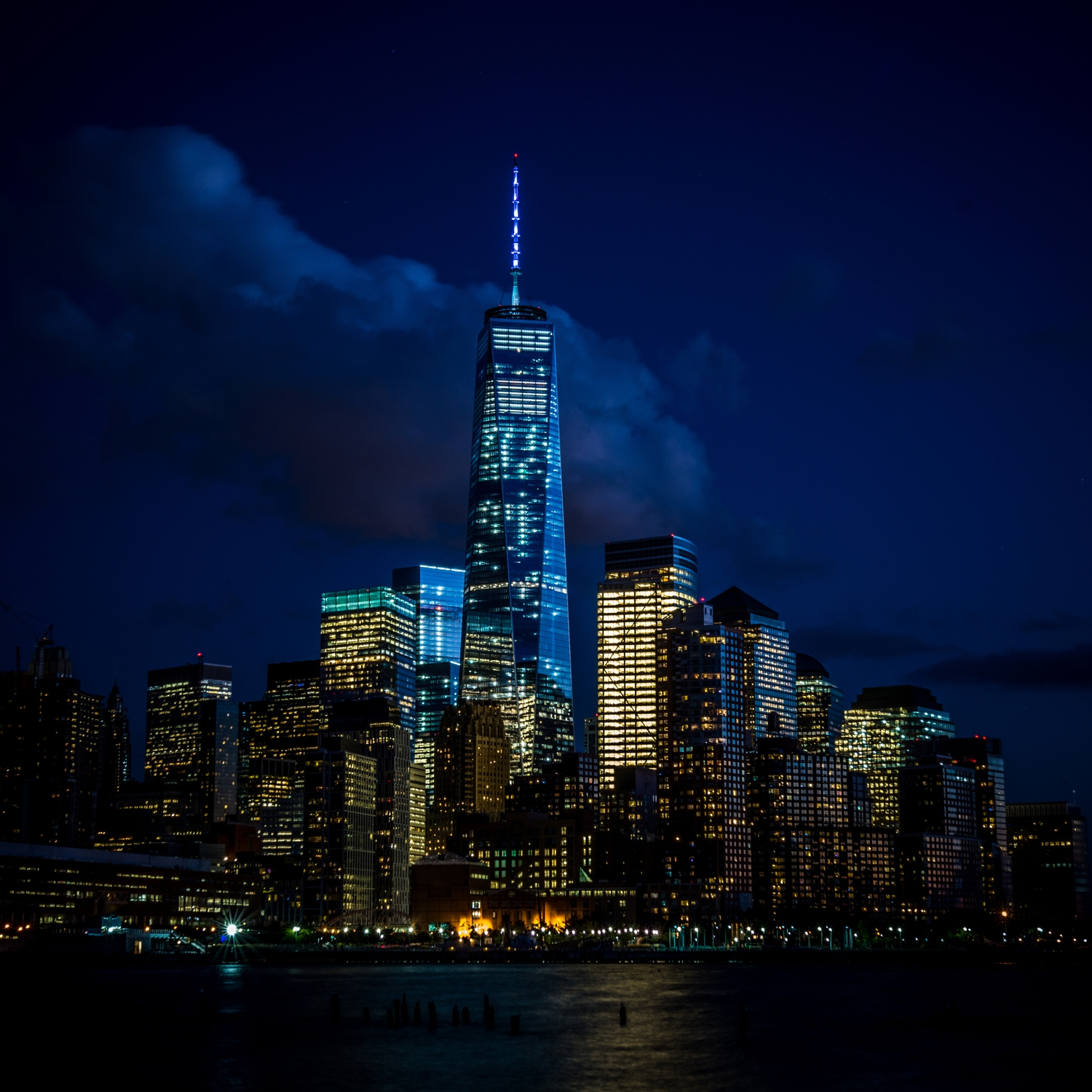 1WTC at night