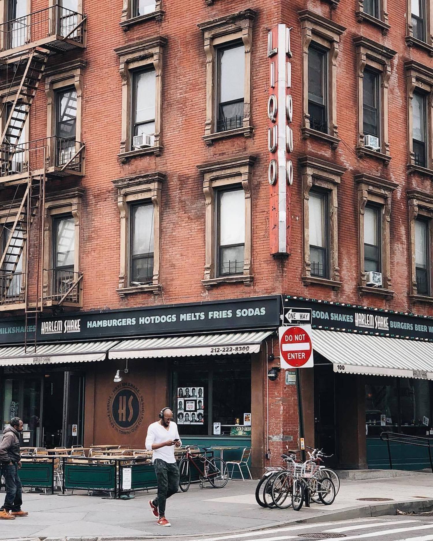 Harlem, Manhattan. Photo via @melliekr #viewingnyc #newyork #newyorkcity #nyc